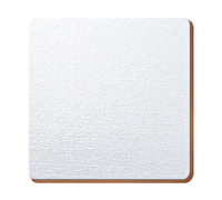Creative Tops Opulence Silver Foil Pack Of 4 Square Coasters