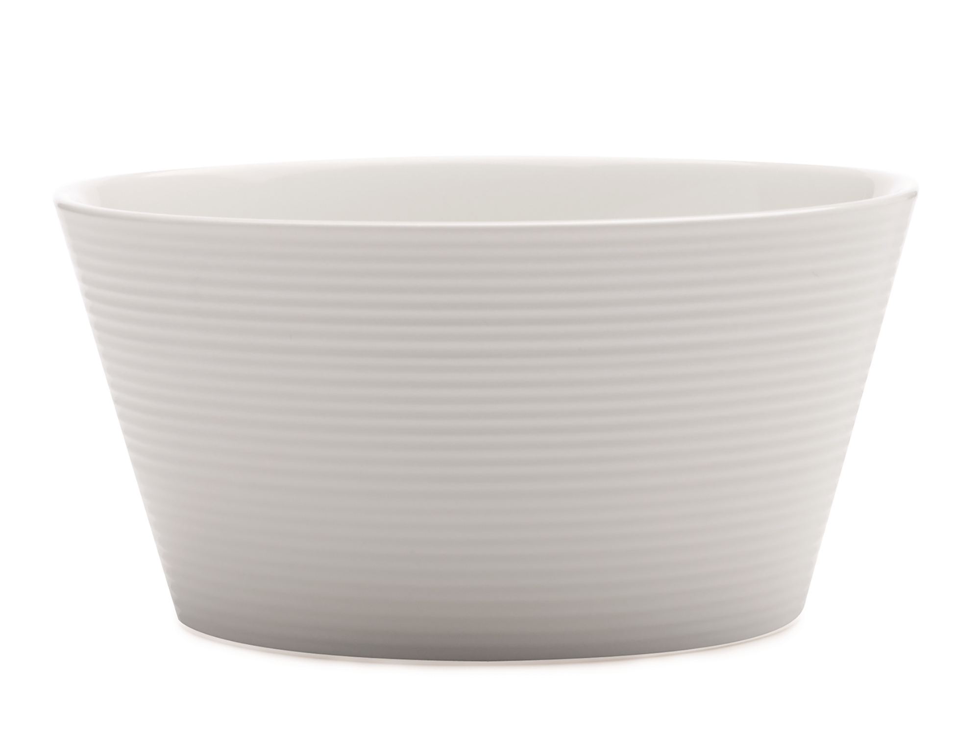 Casa Domani Casual White Evolve 15Cm Conical Bowl