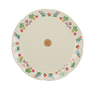 Katie Alice Festival Folk Dinner Plate