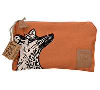 Creative Tops Into The Wild Fox Small Cosmetic Bag