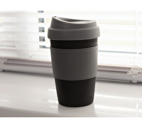 La Cafetiere Pp Travel Cup 340ml Black / Grey