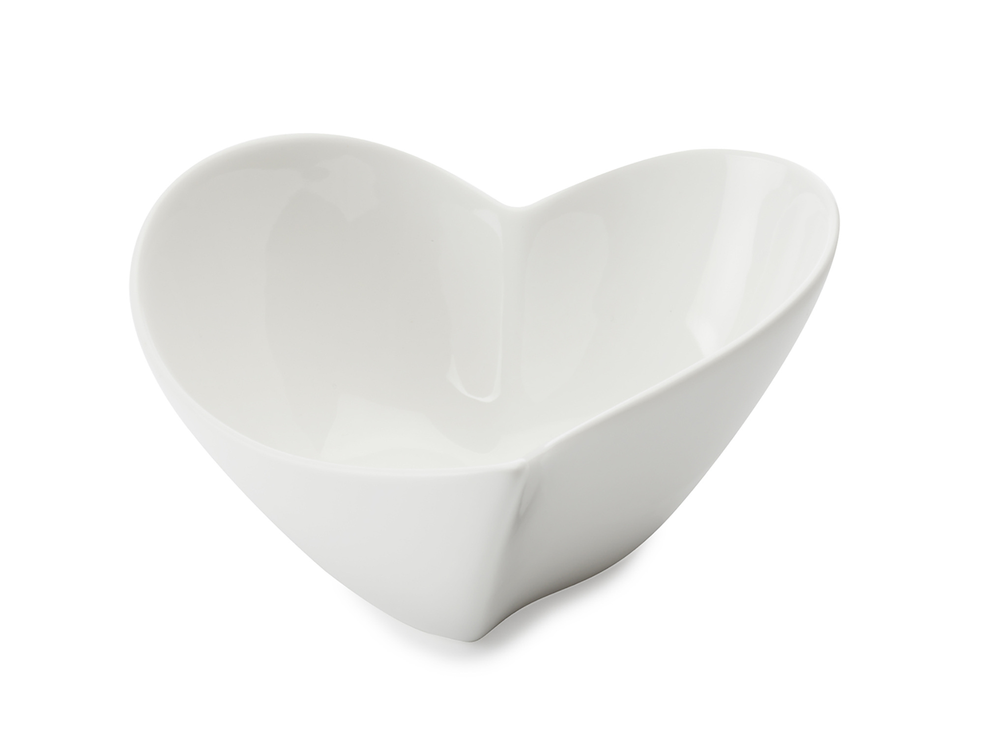 Maxwell & Williams White Basics Heart 17Cm Bowl