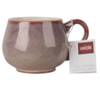 La Cafetiere Core Cosy Foot Reactive Mug Pink