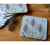 Kew Gardens Lavender Pack Of 6 Coasters