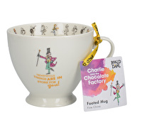 Roald Dahl Charlie And The Chocolate Factory Footed Mug