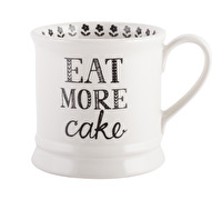 Creative Tops Bake Stir It Up Eat More Cake Tankard Mug