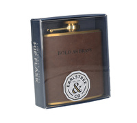 Creative Tops Earlstree & Co Stainless Steel Hip Flask