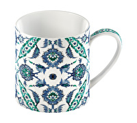 Victoria and Albert Turkish Painted Tile Can Mug