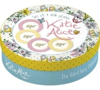 Katie Alice Bird Song Set Of 4 Side Plates