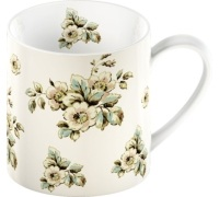 Katie Alice Cottage Flower Can Mug Cream