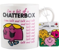 Mr Men Little Miss Chatterbox Can Mug