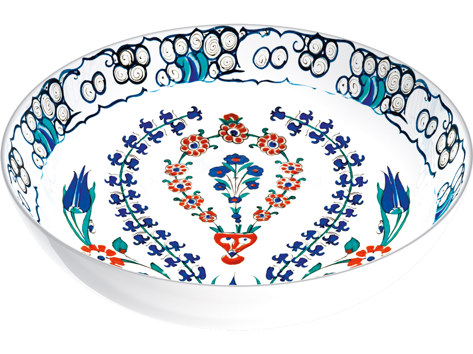 Victoria and Albert Iznik Hyacinth Serve Bowl