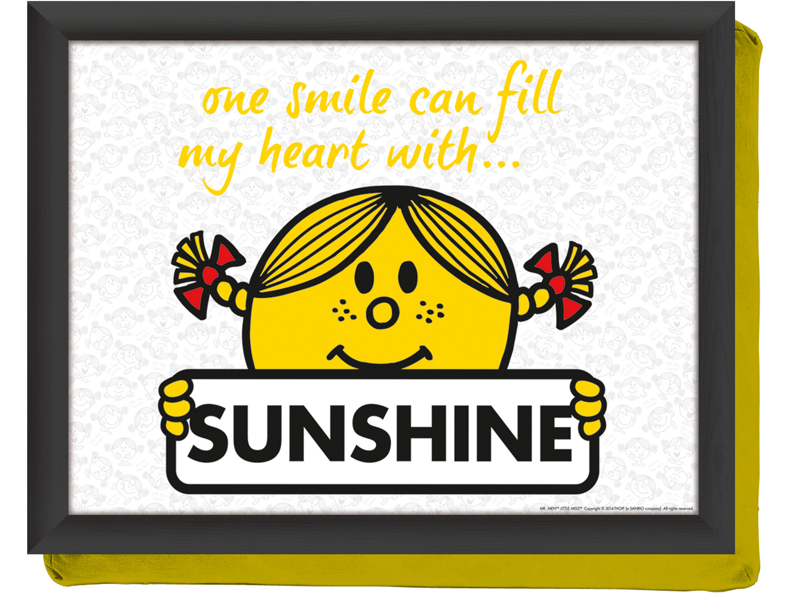 Mr Men Little Miss Sunshine Laptray