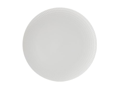 Maxwell & Williams White Basics Diamonds 27Cm Dinner Plate