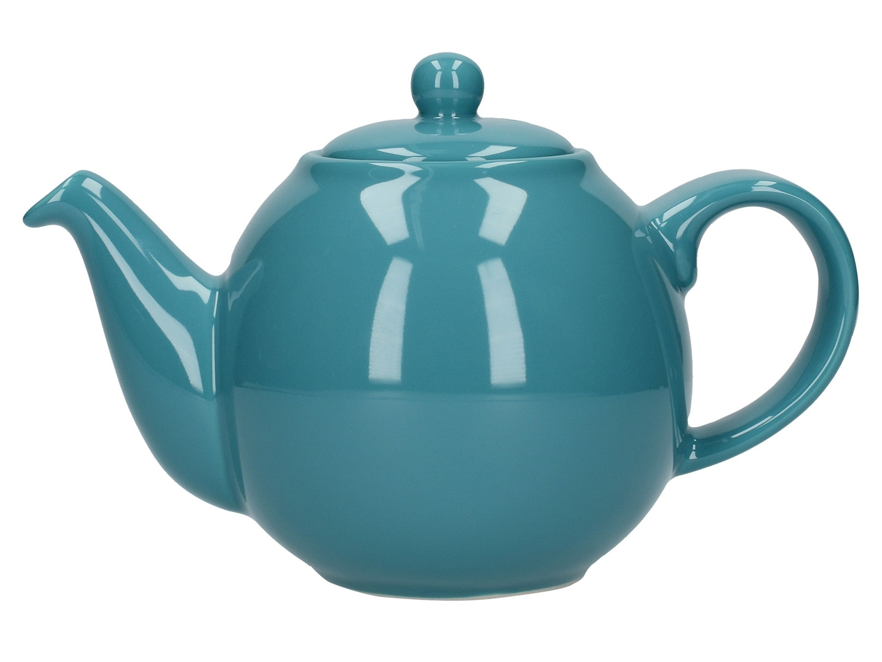 London Pottery Globe 2 Cup Teapot Aqua