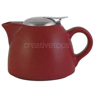 La Cafetiere Barcelona 450ml Teapot Red