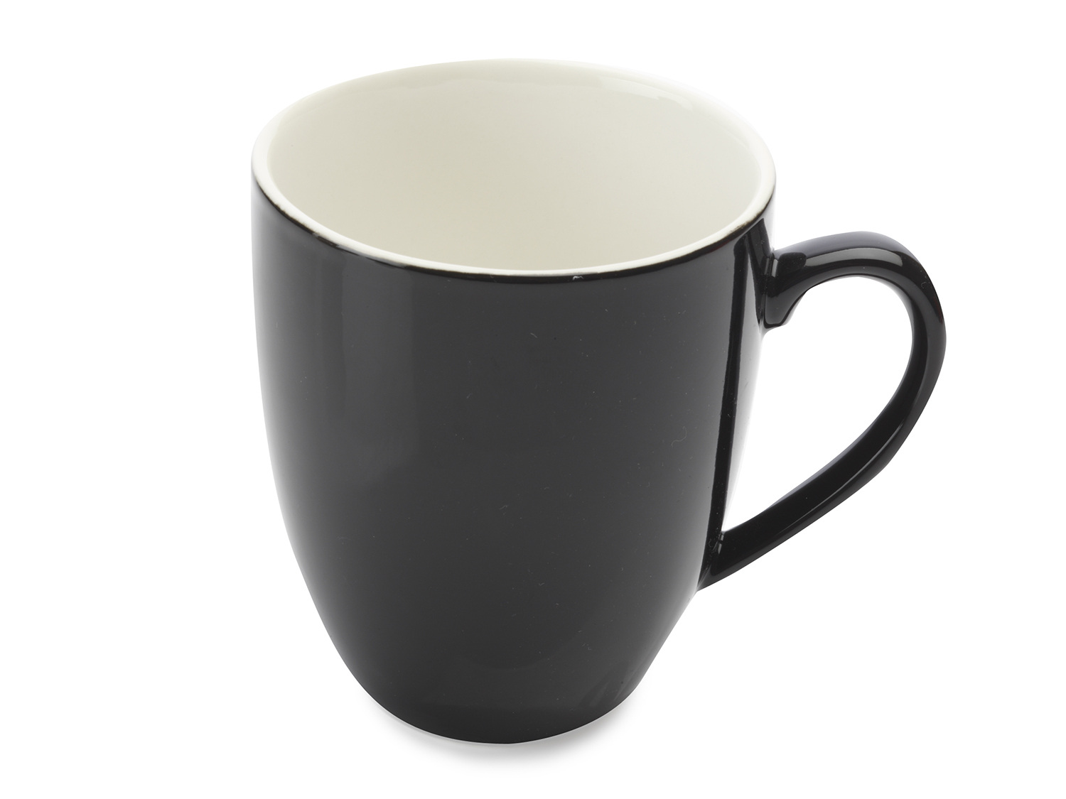 Maxwell & Williams Cafe Culture 400Ml Coupe Mug Nero