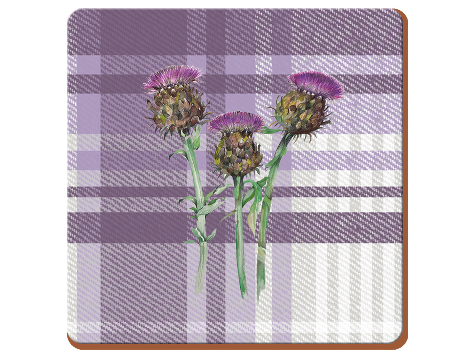 Creative Tops Thistle Pack Of 6 Premium Coasters