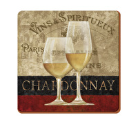 Everyday Home Chardonnay Pack Of 4 Coasters