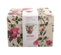 Victoria and Albert Dog Rose Mug In A Box