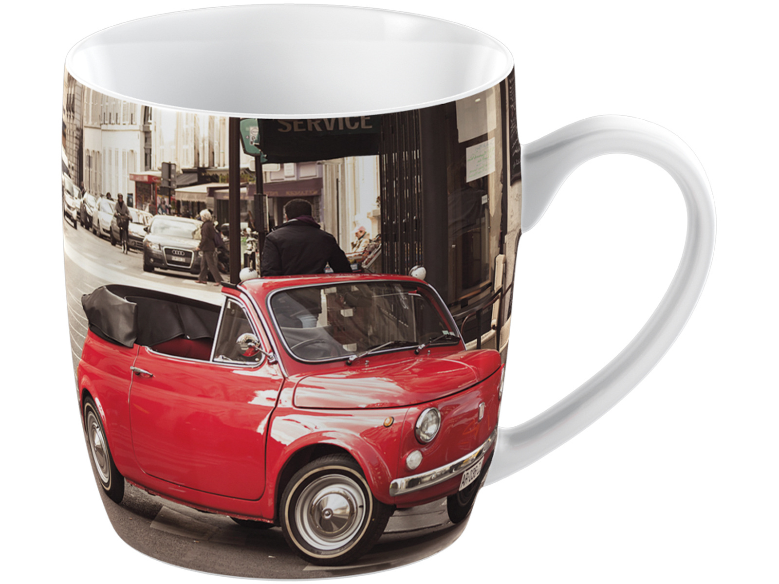 Everyday Home Retro Fiat Barrel Mug