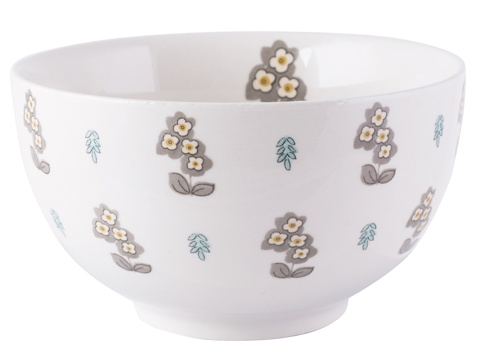 Katie Alice Pretty Retro Simple Floral Cereal Bowl