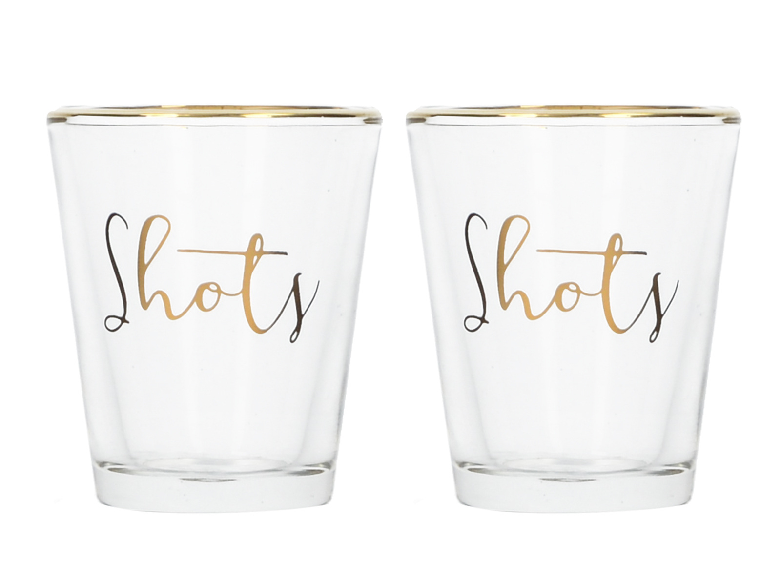 Creative Tops Ava & I Set Of 2 Shot Glasses - Shots