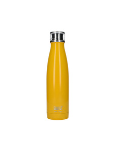 Photo of Built 17 Oz Double Wall Stainless Steel Water Bottle Yellow
