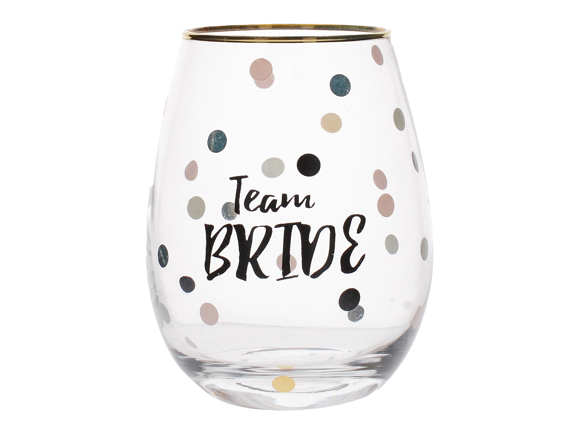 Creative Tops Ava & I Team Bride Stemless Wine Glass