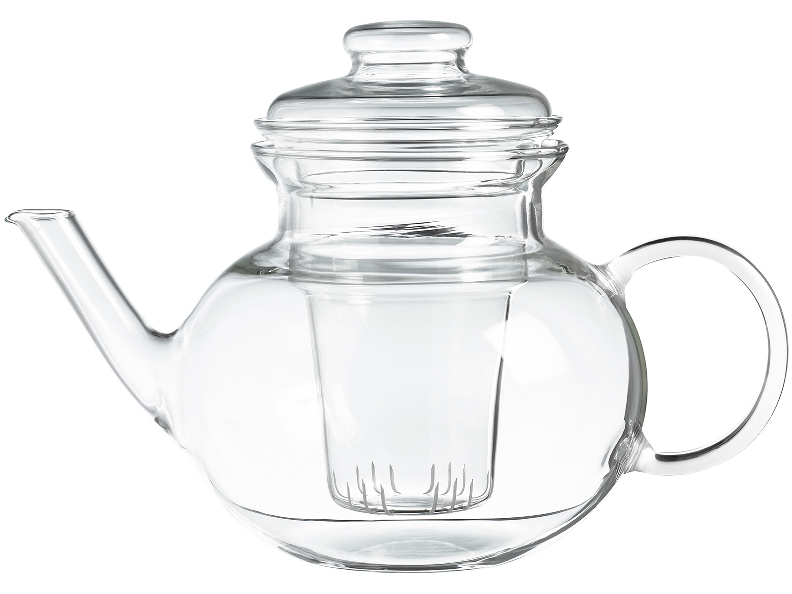 Randwyck Lotus 1250ml Glass Teapot