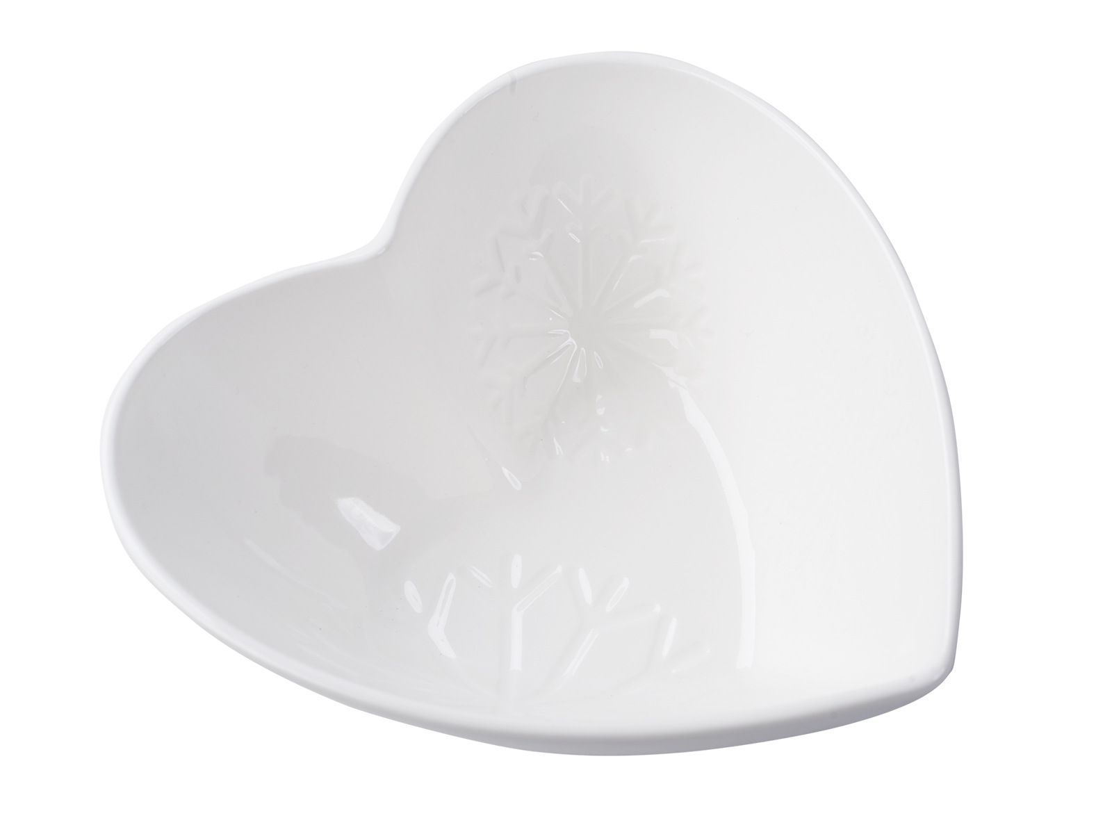 Creative Tops Creative Christmas Set Of 2 Heart Shaped Embossed Bowls