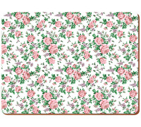 Everyday Home Pink Ditsy Pack Of 2 Large Placemats