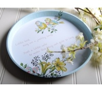 Katie Alice Bird Song Tin Tray