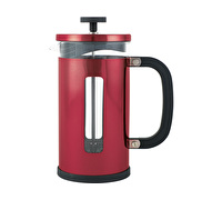 La Cafetiere Pisa 8 Cup Cafetiere Red