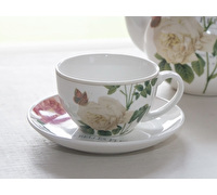 Kew Gardens Queen Charlottes Memoirs Tea Cup And Saucer