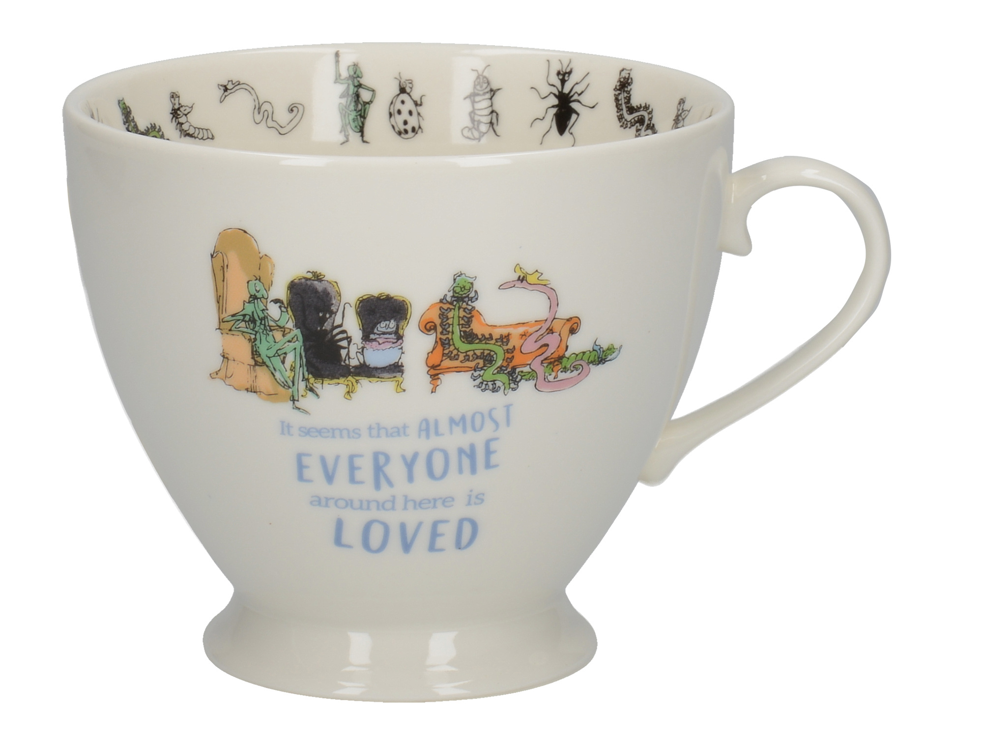 Roald Dahl James And The Giant Peach Footed Mug