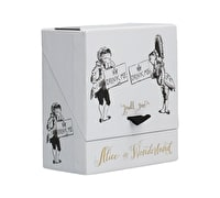 Victoria And Albert Alice In Wonderland Set Of 2 Minature Glasses