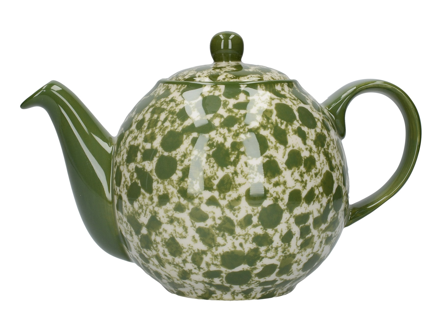 London Pottery Splash Globe 4 Cup Teapot Green