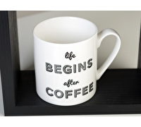 Everyday Home Life Begins After Coffee Can Mug