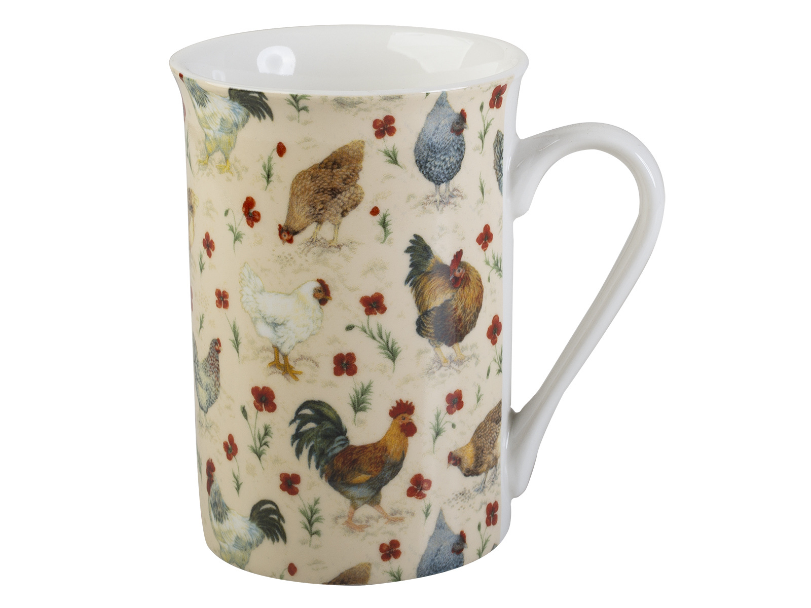 Everyday Home Chicken Flared Rim Mug