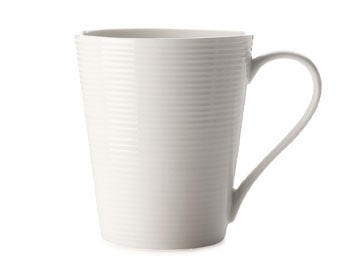 Casa Domani Casual White Evolve 380Ml Conical Mug