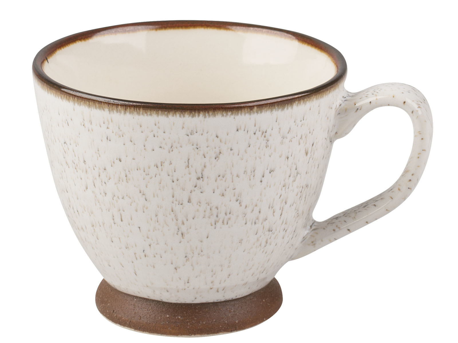 La Cafetiere Small Textured Teacup Cream