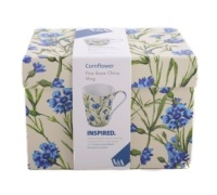 Victoria and Albert Cornflower Mug In A Box