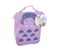 Built Big Apple Buddies Hippo Lunch Sack