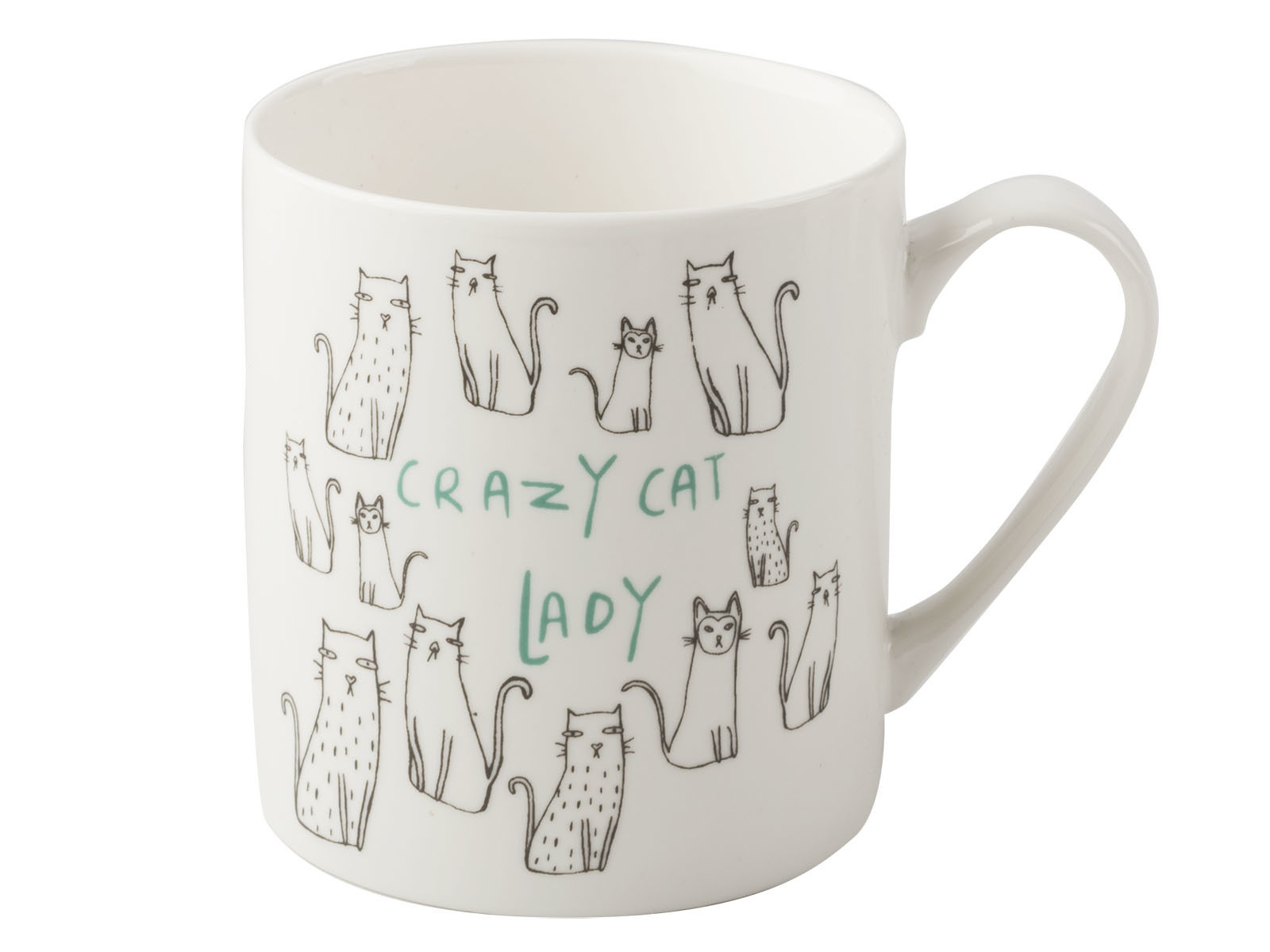Everyday Home Cat Can Mug