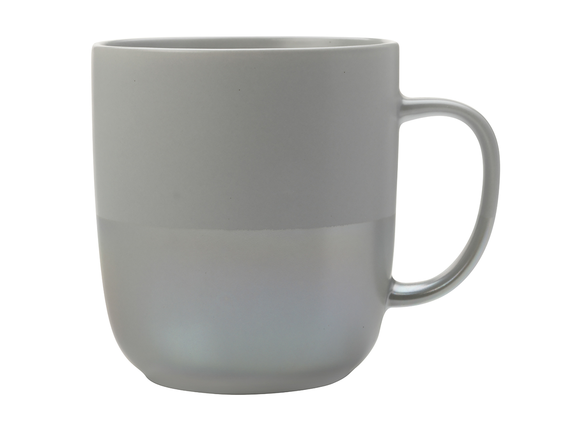 Maxwell & Williams Lune 400Ml Mug Grey Lustre