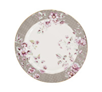 Katie Alice Ditsy Floral Side Plate Grey