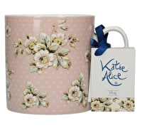 Katie Alice Cottage Flower Can Mug Pink