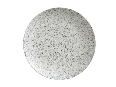 Maxwell & Williams Caviar Speckle Coupe Plate