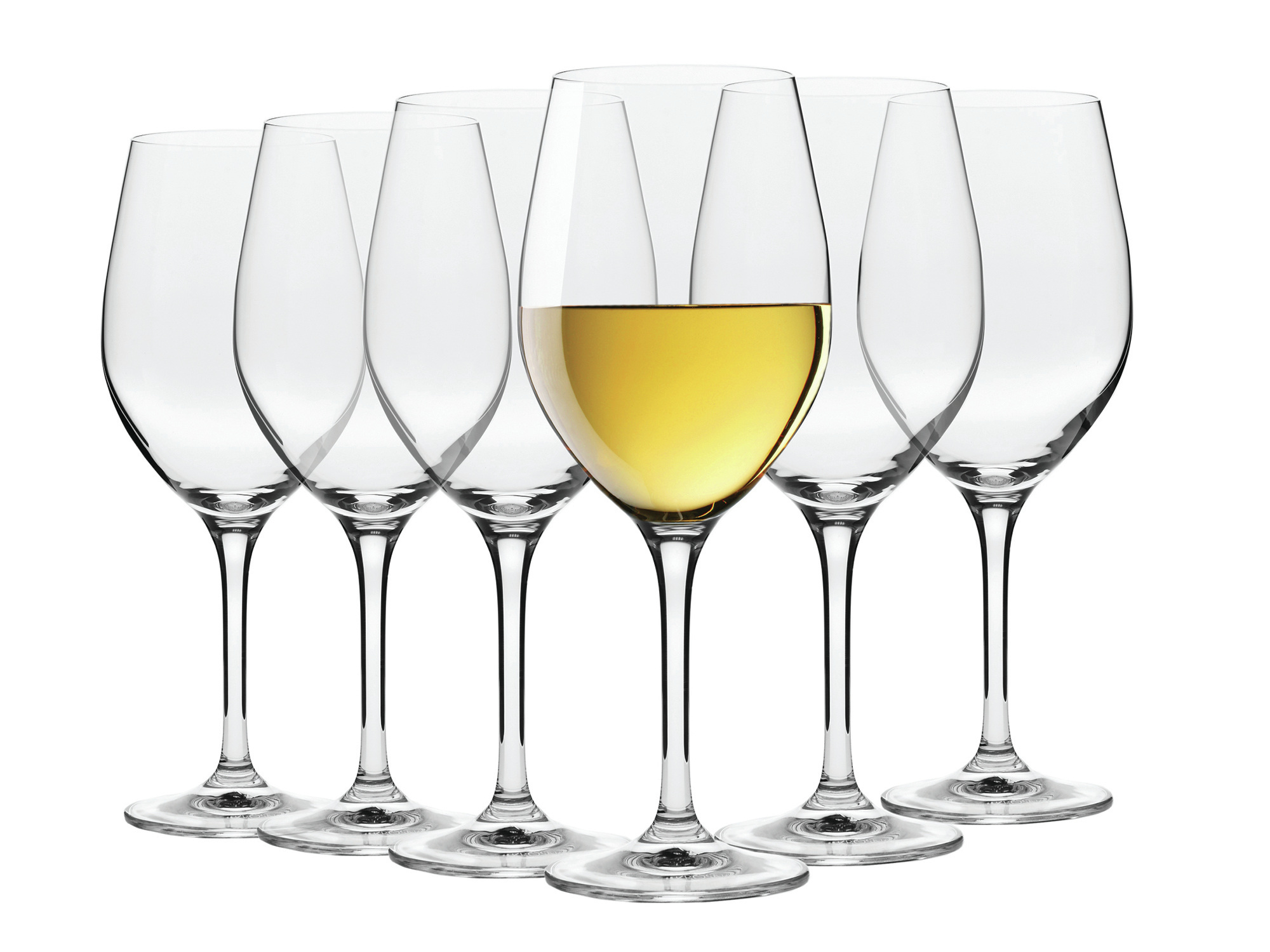 Maxwell & Williams Vino Set Of 6 370Ml White Wine Glasses Gift Boxed